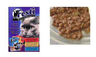 FESTI Pouch (Chicken, Lamb, Salmon)100 Gr - (Ruminant free formula)