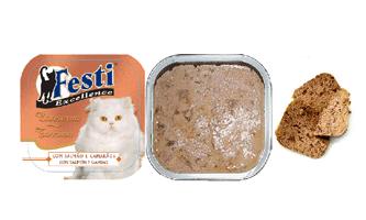 FESTI Excellence Salmon & Tuna Tray (Ruminant free formula - Code CT11E)